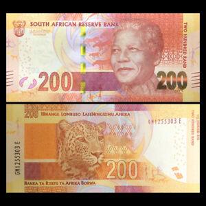 South Africa 200 Rand, NDND(2013-16), P-142, UNC