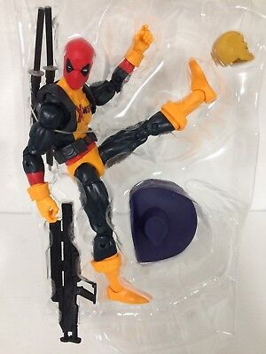 Marvel Legends X-MEN SHIRT DEADPOOL Mad Jack Wave 2 *NO SAURON BAF IN STOCK