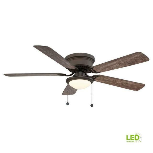 Hugger Al383led Eb 52 Inch Led Ceiling Fan For Sale Online Ebay