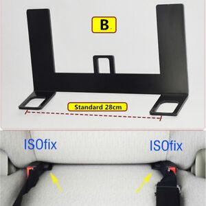 Universal-ISOFIX-Mount-Base-SUV-Car-Safety-Seat-Belt-Bracket-Latch-5mm-Steel-1x