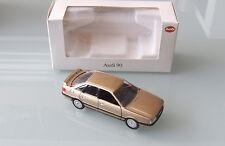 Schabak 1:43 AUDI 90 quattro in oro metallizzato mattoncini in scatola originale