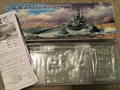 Trumpeter 05772 1//700 USS West Virginia BB-48 1945