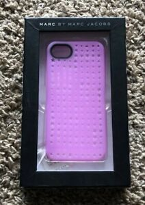pick up 62487 34685 Details about Marc Jacobs iPhone 5 Purple Pink Cell Phone Case