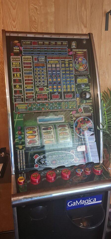 Gamagica, spilleautomat, God