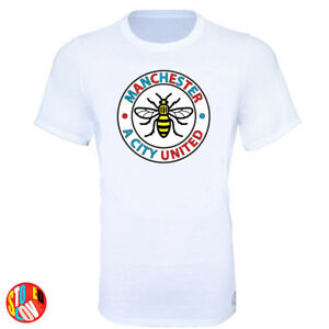 e14866568f8 Manchester Bee A City United Stand Together T-Shirt - Kids   Adult ...