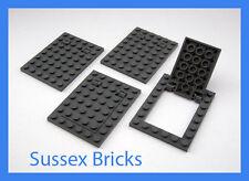 Lego - 4x Dark Grey Trapdoor 92099 92107 Castle City Star Wars Space New Pieces