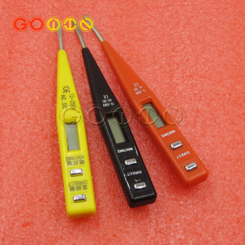 Digital 1× LCD AC//DC Electric Voltage Tester Alert Continuity Test Pen Detector