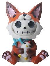 NEW Furrybones Furry Bones Fen Fox w/ Chicken Skull Skeleton Figurine Gift 8487