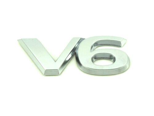 Genuine New VAUXHALL V6 BADGE Opel Vectra C /& Signum 2.6 3.2 SRi GSi 2006-2008