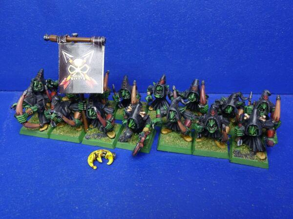 15 Nachtgoblin Arcieri Degli Orchi & Goblin Ben Dipinto 1