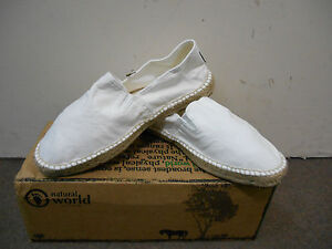 Camping Col Natural 325 505 Chaussures Homme Yute World Blanc Espadrilles 9HWEID2Y