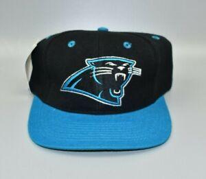 Carolina-Panthers-Vintage-90-039-s-Twins-Enterprise-2-Tone-Snapback-Cap-Hat-NWT