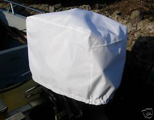 IMPERMEABILE-amp-VENTILATO-Motore-Fuoribordo-Barca-Copertura-10-45-HP-Size3-Bianco