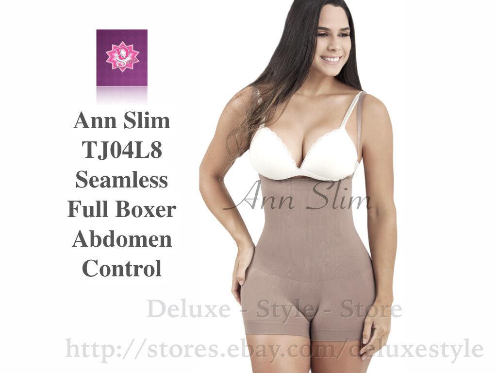 Colombia.FAJA COLOMBIANA Ann Slim Body shaper-J04L8 Full Boxer Abdomen Control
