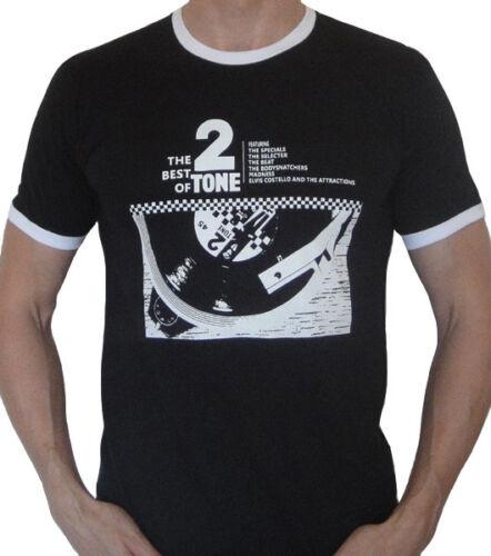 2 tone t shirt FOLIE Selecter les Specials Ska Trojan