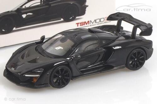 Onyx black McLaren Senna LHD MINI GT 1:64 MGT00020-L