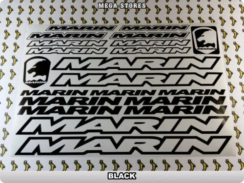 "MARIN Stickers Decals Bicycles Bikes BMX MTB Frame Cycles /""DIFFERENT COLORS/"" 58T"