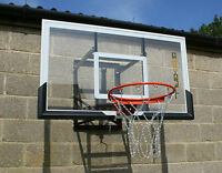 Bee-ball Zy024 Basketball Backboard Chain Net Adjustable Height With Flex Ring