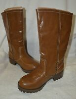 Cherokee Girl's Franci Zip Up Fold Down Shearing Brown Boot - Assorted Sizes