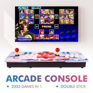 Treasure-Box-12s-3333-in-1-Retro-Video-Games-Double-Stick-Arcade-Console-XC802US