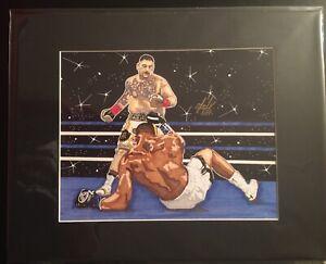 Heavyweight-Boxing-Champion-Andy-Ruiz-Matted-11x14-Artist-Signed-PrintTonyKeaton
