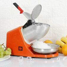 300w Electric Ice Shaver Shaved Machine Shaver Orange Shaved Ice Snow Cone Maker