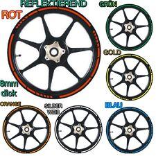 KTM EXC SMC LC4 Duke 125 250 300 525 625 640 690 950 990 Felgenaufkleber Sticker