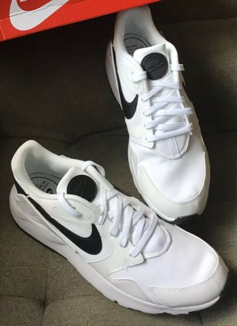 New Men Nike LD Victory Running Lifestyle Shoes White/Black AT4249-101 Size 12