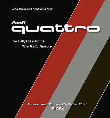 Offizielle Website Audi Quattro Rallye Rally History (sport S1 E2 Monte Röhrl Pikes Peak) Buch Book Herausragende Eigenschaften