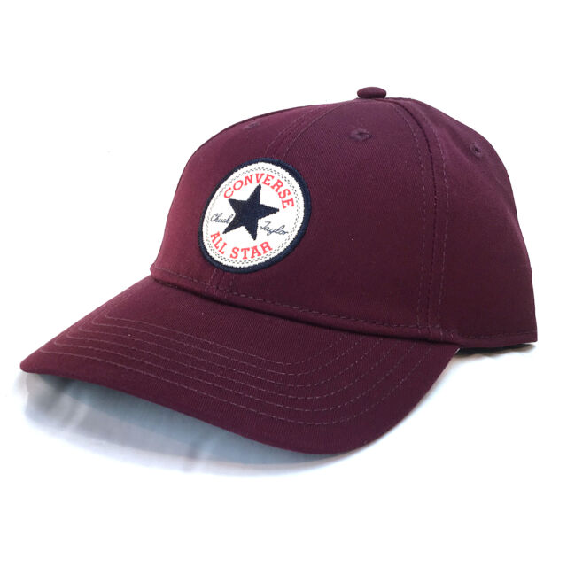 1cc4a47614a2 Converse Mens Baseball Cap.twill Adjustable Snapback Curved Peak Hat ...