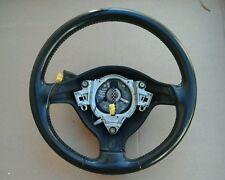 USED OEM VW CABRIO MK3.5 BLACK LEATHER 3 SPOKE STEERING WHEEL MK3 GOLF GTI JETTA