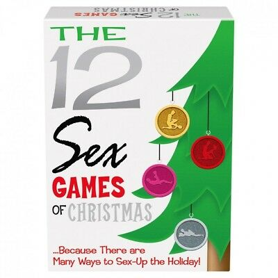 The 12 Sex Games Of Christmas Game Fun Party Secret Santa Gift Days Office H Ebay