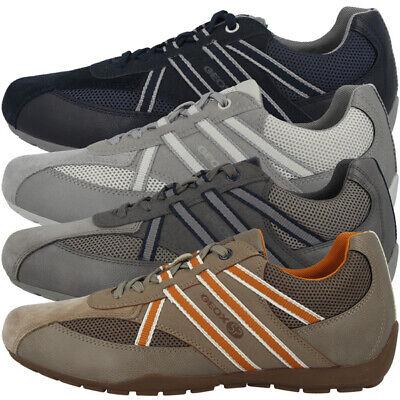 GEOX U Ravex B Schuhe Herren Low Cut Sneaker Freizeit