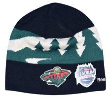8ad2376e8 Minnesota Wild Reebok NHL Cuffed Pom Acrylic Knit Hat Cap Toque ...