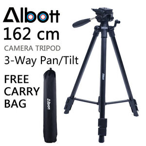 Professional Tripod for Digital DSLR Camera Camcorder Video For Canon Nikon Sony