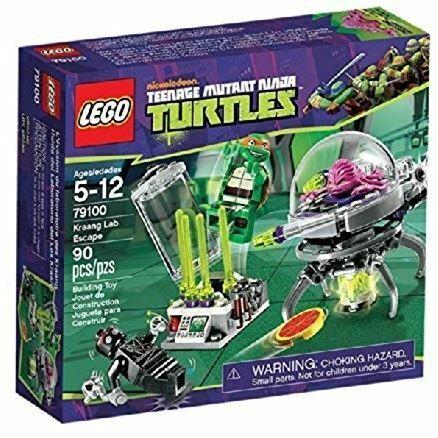Kraang Lab Escape Box Damaged LEGO Teenage Mutant Ninja Turtles 79100