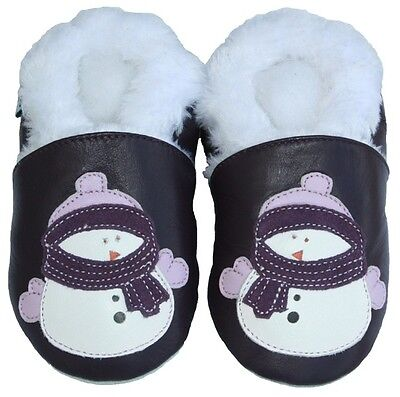Soft Sole Leather Baby Infant Shoe SportBlackFur 18-24M Littleoneshoes Jinwood