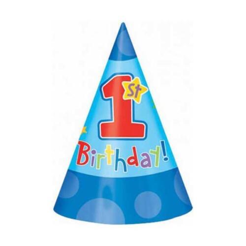 1 Geburtstag Junge Boy TOP AUSWAHL Party Deko Erster Geburtstag blau hellblau