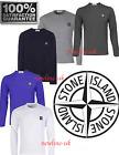 Stone Island Crew Neck Long Sleeve Polo T-Shirt