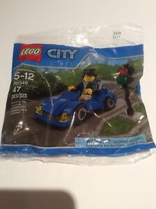 Lego City 30349 Blue Sports Car NEW Factory Sealed in Bag