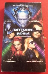 VHS-French-Movie-Batman-amp-Robin-Version-Francaise