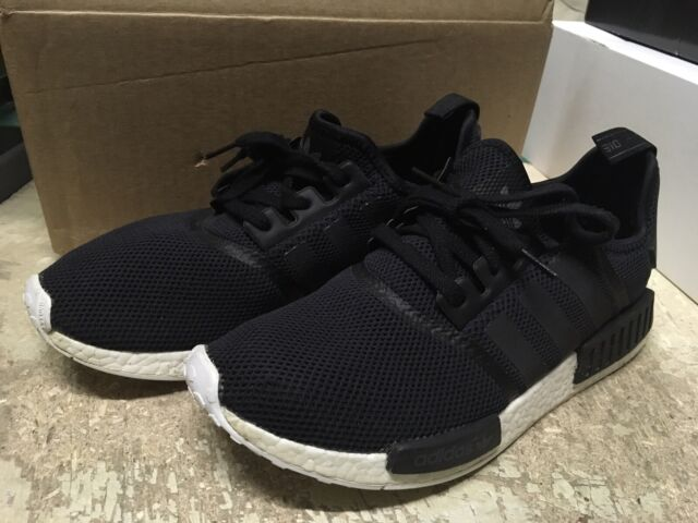 Adidas NMD R1 Core Black Sand S76847 Men's Brand New in Box