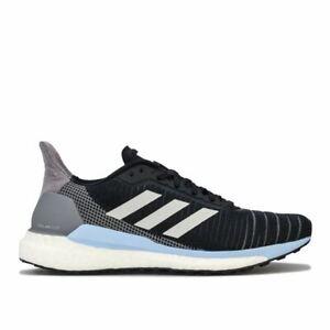Women-039-s-Adidas-solaire-Glide-19-Leger-Amorti-Chaussures-De-Course-En-Noir