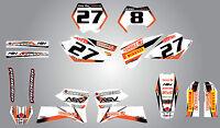 Full Custom Graphic Kit - Storm - Ktm Sx - 2005 - 2006