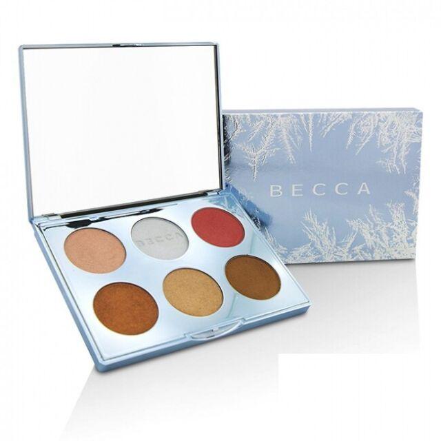 Becca Apres Ski Glow Face Palette  Highlight & Bronzer 0.54oz New in Box