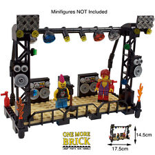 LEGO Music Stage - Concert Stand + microphone, speakers + DJ equipt - 170 Parts!