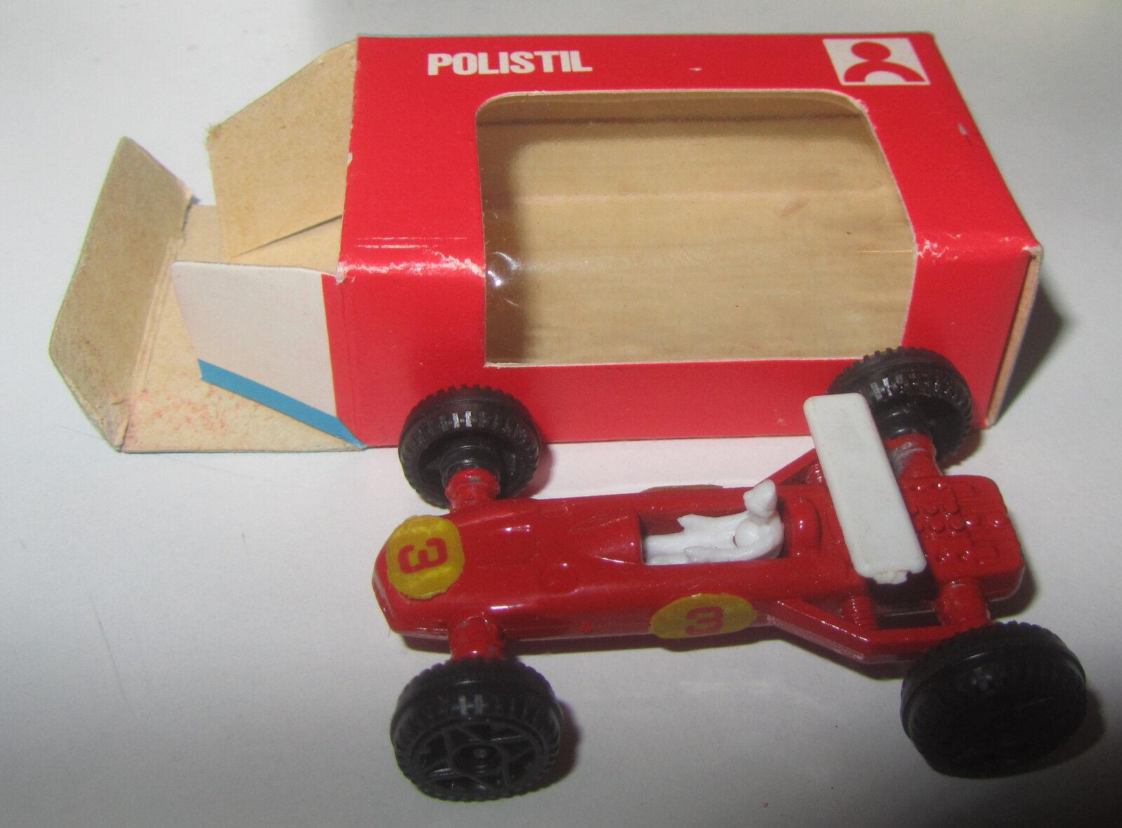 POLISTIL EAGLE WESLAK F.1 N°0/62 Rossa OMAGGIO DEL GESTORE BENZINA BP ANNO 1968