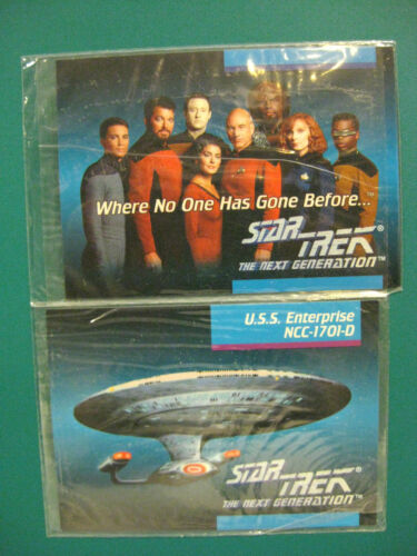 1992 STARTREK THE NEXT GENERATION IMPEL CARDSET COMPLETE ALL CHASE CARDS