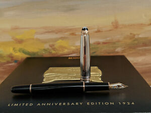 MONTBLANC-Limited-75th-Anniversary-Edition-1924-Rose-Gold-144-Fountain-Pen-NOS