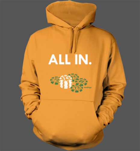 Oakland Athletics A/'s Playoffs World Series Beane Poker Lester All In Hoodie